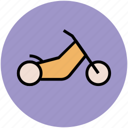 bike, motorbike, motorcycle, scooter, travel icon