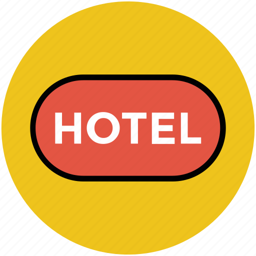 hotel, hotel information, hotel sign, information, tourism, travel icon