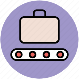 airport security, baggage scanner, luggage scanner, protection, security scanner icon