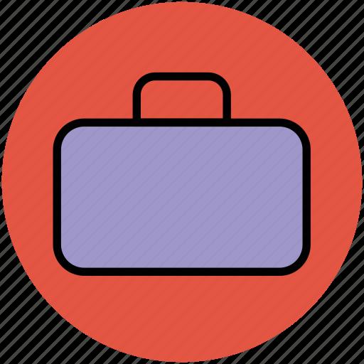 attache case, bag, briefcase, luggage, suitcase, travel bag icon