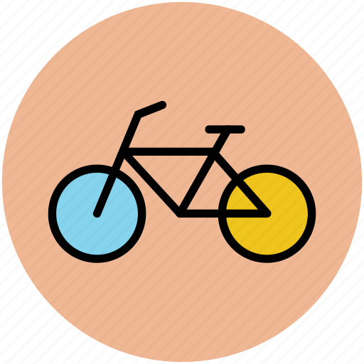 bicycle, bike, cycle, cycling, cyclist, sport icon