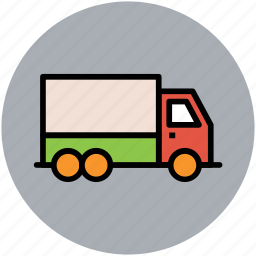 cargo, delivery van, shipping, shipping truck, transport, truck, vehicle icon