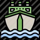boat, cruise, ship, ships, transport, yacht icon