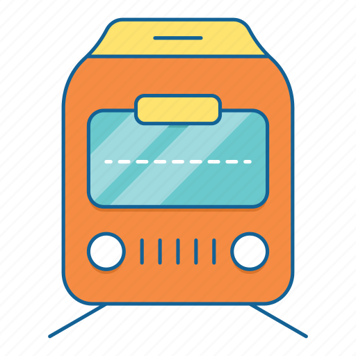 holiday, station, train, transportation, travel, vacation, vechile icon