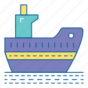 adventure, holiday, ship, transportation, travel, vacation, vechile icon