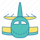 airplane, airport, holiday, plane, transportation, travel, vehicle icon