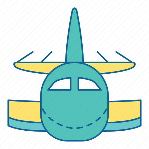 Airport, holiday, plane, transportation, travel, airplane, vehicle icon - Download on Iconfinder