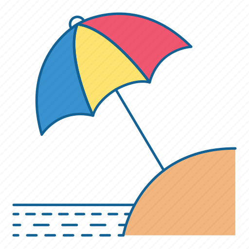 Beach, holiday, summer, travel, umbrella, vacation, tourism icon - Download on Iconfinder