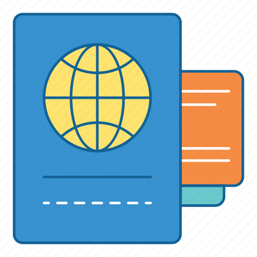 Documents, files, holiday, journal, passport, travel, vacation icon - Download on Iconfinder