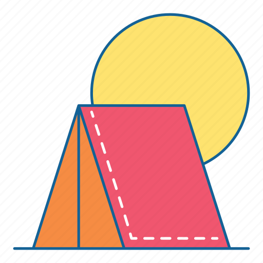 Camp, hiking, holiday, travel, vacation, outdoor, tourism icon - Download on Iconfinder