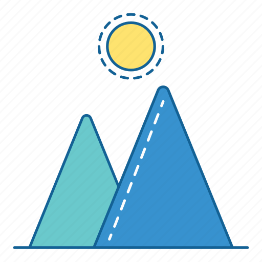 camping, hiking, holiday, mountain, outdoor, travel, vacation icon