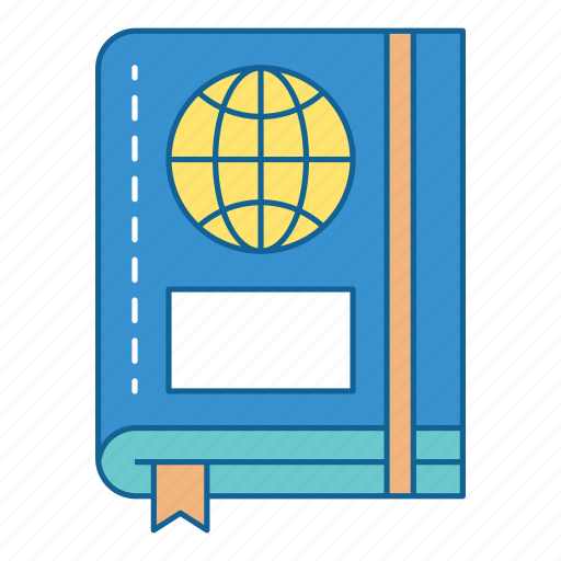 adventure, holiday, journal, passport, tourism, travel, vacation icon
