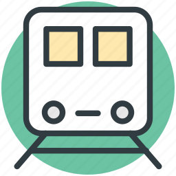 locomotive, subway, subway train, tram, tramway icon
