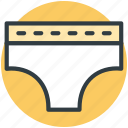 pantie, underpants, underclothes, underthings, undies, skivvies, undergarments