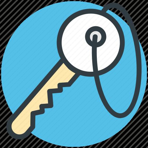 key, lock key, password, privacy, protection, retro key, safety icon