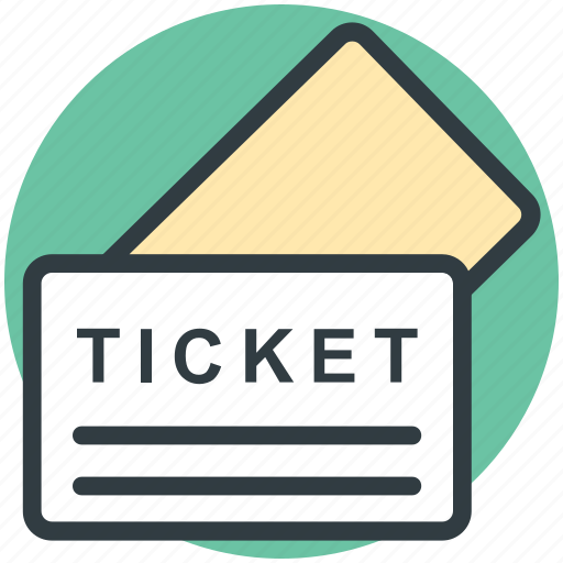 entry ticket, event pass, event ticket, museum ticket, pass, ticket icon