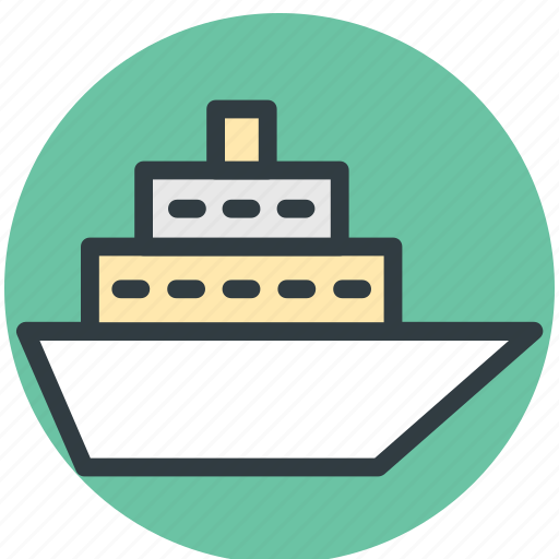 cruise liner, cruise ship, floating hotel, luxury liner, ocean liner, ship, vacations icon