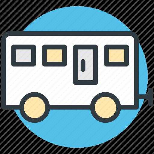 living van, living vehicle, travel, van, van dwelling, vanity van icon