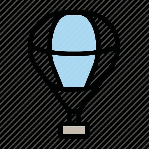 balloon, sport, transport, wind icon