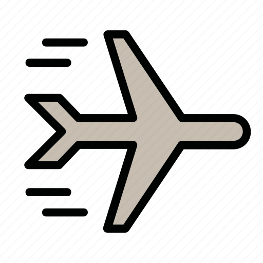 aircraft, airport, flight, plane icon