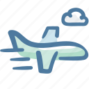 airplane, business, flight, logistic delivery, logistics, plane, transportation icon