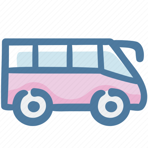 bus, road transport, traffic, transport, transportation, vehicle icon