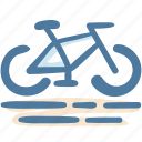 activities, bicycle, bike, camping, leisure, outdoor, sport icon