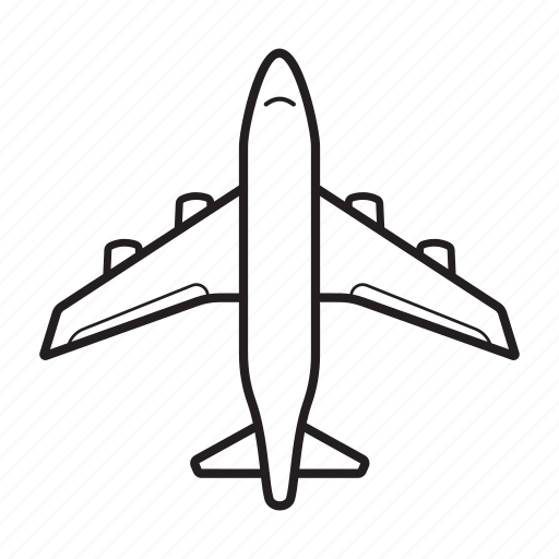 Aeroplane Airplane Airport Boeing Flight Plane Icon