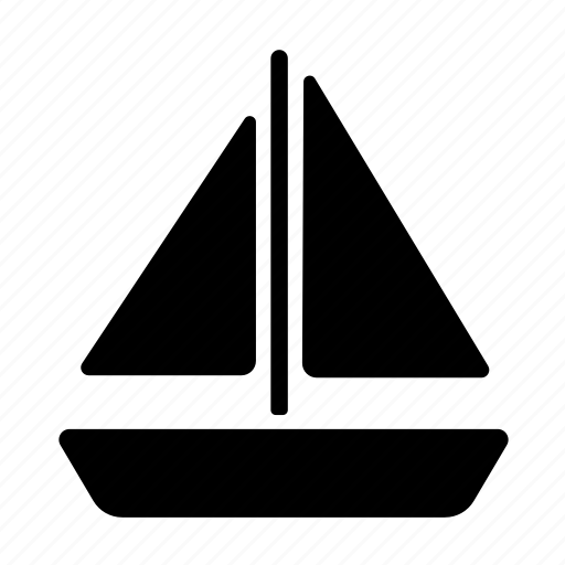 boat, sailboat, sailing ship, transportation, yacht icon