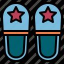 travel, slipper, comfortable, footwear, shoe