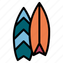 travel, surf, beach, summer, surfboard, surfing