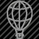 airbaloon, balloon, tourism, transport, travel, vacation icon