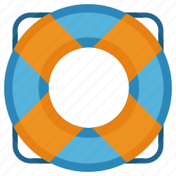 buoy, help, life, ring, sos icon