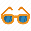 glasses, summer, sun, sunglasses icon