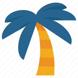 palm, summer, travel, tree, vacation icon