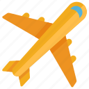 fly, flight, vacation, shipping, plane, airline, airplane icon