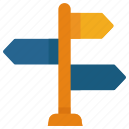 arrow, direction, location, navigation, pointer, travel icon