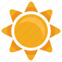 hot, summer, sun, sunny, warm, weather icon