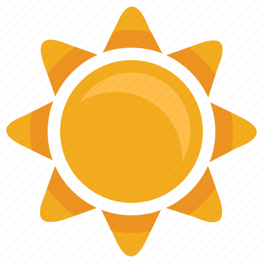 Hot, summer, sun, sunny, warm, weather icon | Icon search ...