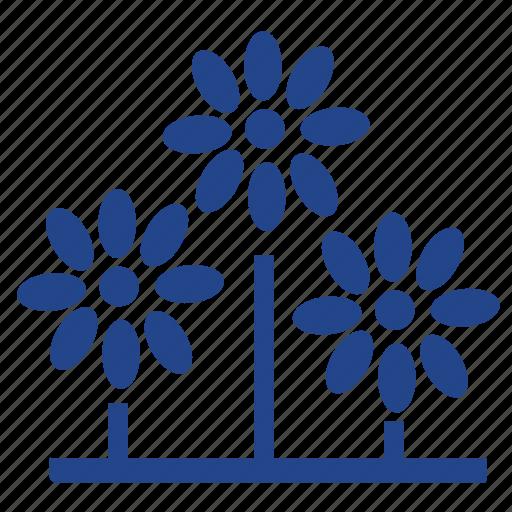flower, flowers, garden, gardening, green, nature, park, plant icon