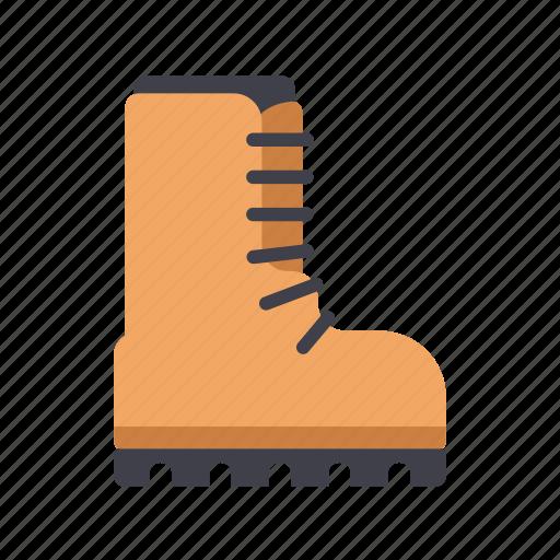 boots, brogans, fashion, footwear, shoe icon
