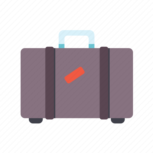baggage, luggage, suitcase, travel, trunk icon