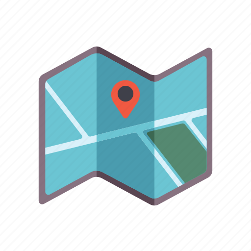 geography, location, map, orientation, position icon