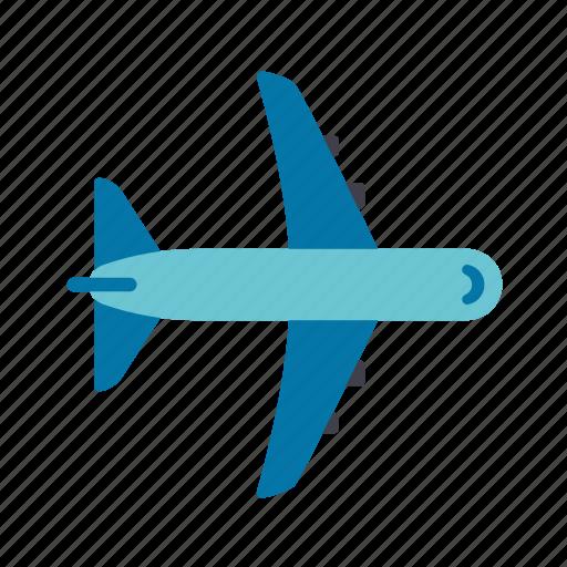 aircraft, flight, plane, transportation, travel icon