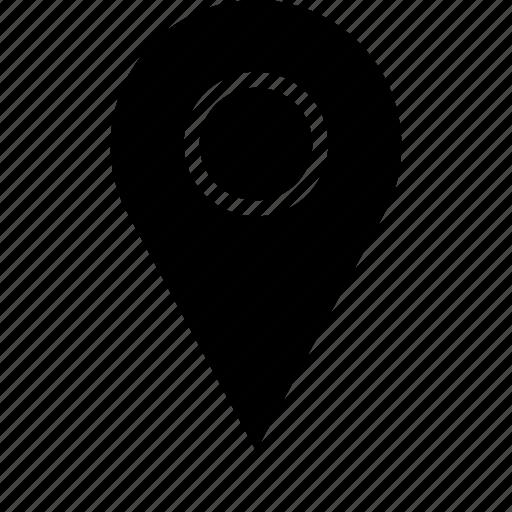 direction, google, locate icon