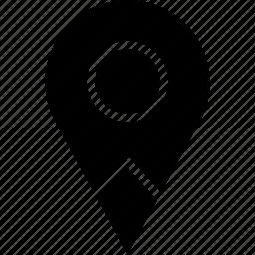 locate, location, pin icon