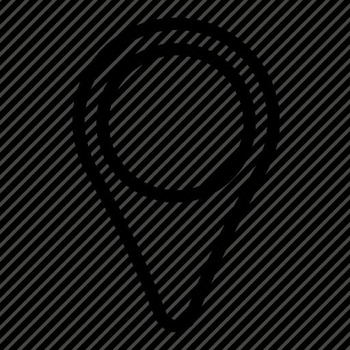 gps, location, map, marker, navigate, navigation, pin icon
