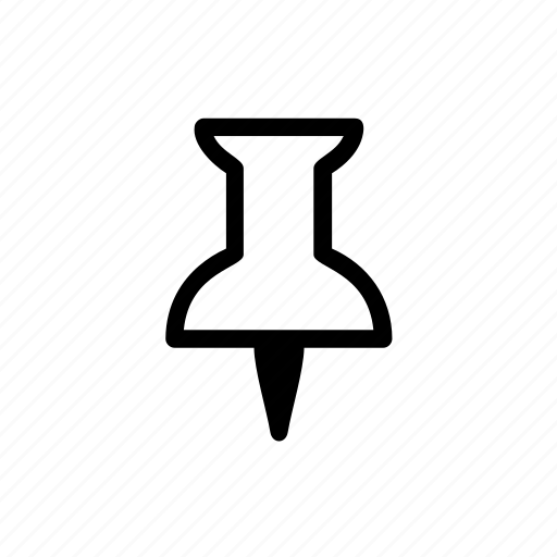 gps, location, map, marker, pin, tack, thumbtack icon