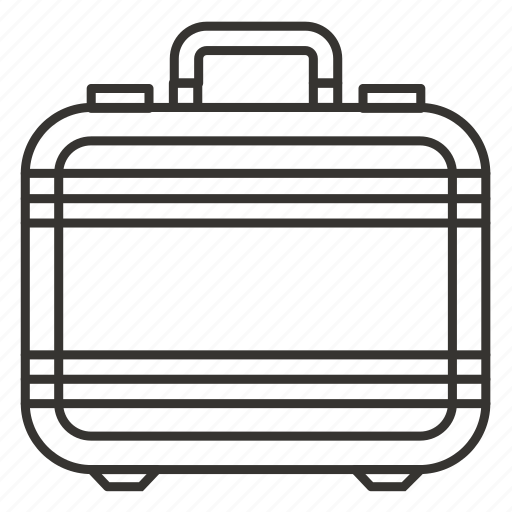 business, suitcase, tourist, transportation, travel bag icon