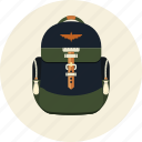 backpack, baggage, education, haversack, luggage, rucksack icon